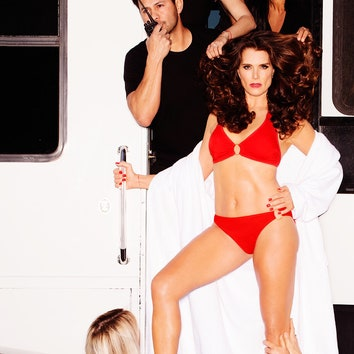 52-летняя Брук Шилдс снялась в рекламе купальников