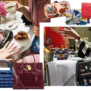 Ради искусства: цветные сумки в осенних коллекциях