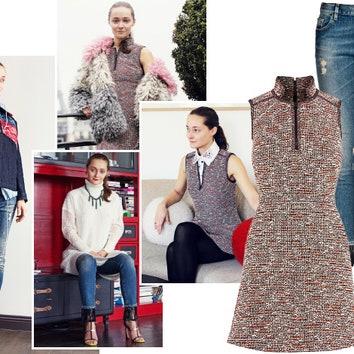 Наряды поочереди: Дарья Шаповалова составляет модный гардероб