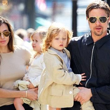Чужих детей не бывает: Анджелина Джоли и Брэд Питт усыновили седьмого ребенка