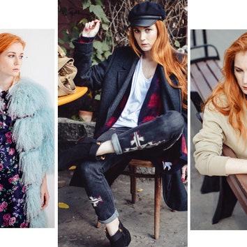 Наряды поочереди: диджей и модель Саша Федорова собирает модный гардероб
