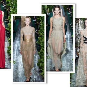 История античности: показ Valentino Haute Couture осень-зима 2014/2015