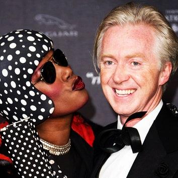 Британские звезды на открытии выставки «Изабелла Блоу: Мода в изобилии»