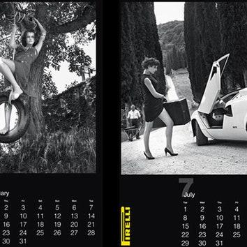 Юбилейный календарь Pirelli 2014 станет коллекционным