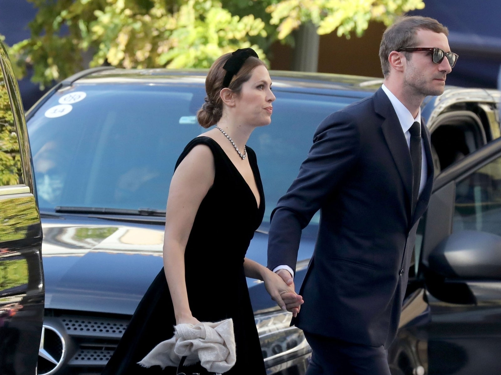 BGUK2249903  Athens GREECE   Prince Philippos of Greece and Denmark and Nina Flohr were pictured at their wedding at the...
